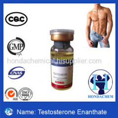Painless Testosterone Enanthate 250mg/ml Anabolic Steroid Injection for Bodybuilder Test E