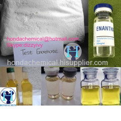 Safe Ship Body building Steroid Hormones Testosterone Enanthate 250mg/Ml Finished Steroid Gear Testosterone E