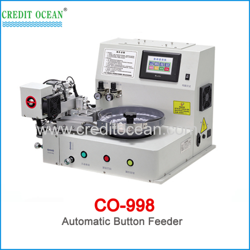 CREDIT OCEAN automatic Button Feeding machine for button sewing machine