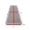 high quality inflatable air mat balance air track for home