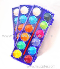 12 Color Pearl Watercolor Sets