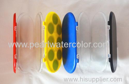 8 color pearl watercolor paint set