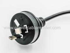 Australian SAA approved E14 salt lamp power cord with switch