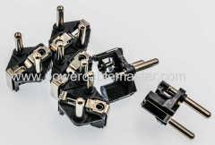 Automatic Type E/F AC power Schuko plug insert 16A