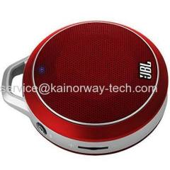 New JBL Micro Wireless Red Ultra Portable Bluetooth BT Multimedia Mini Speakers With Built-in Bass Port