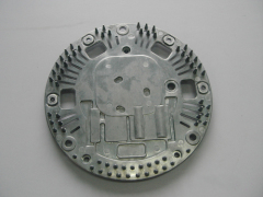 Aluminum parts after CNC machining