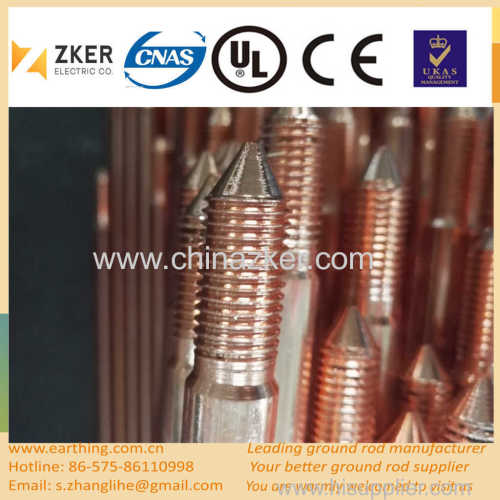 hot selling copper coated grounding rod