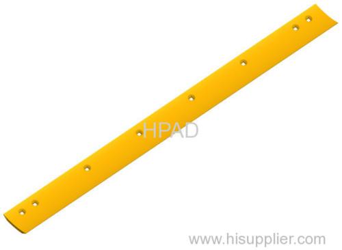 Komatsu high carbon steel grader blade 232-70-12142 forged