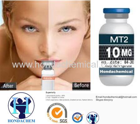Skin Tanning Polypeptides Melanotan 2 (MT2) /Melanotan II/Melanotan safe ship