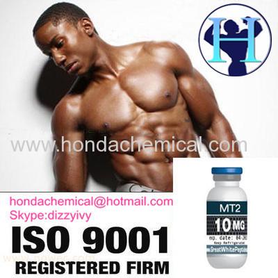 99% purity Man Enhancement Peptide Powder Melanotan 2 Melanotan II Mt II for Tanning