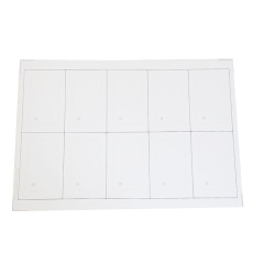 125khz em4305 RFID inlay/PreLam sheet/PVC sheet for making card