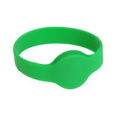Braceletes rfid inteligentes de silicone para eventos de piscina ou spa ou parque temático
