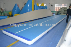 Gymnastics equipment air tumble track for sale