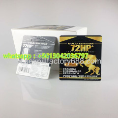 newest GOLD EDITION 72 HP sexual capsules male pill for men enlargement
