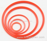 High Quality PTFE Orange Color Back-up Ring