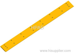 Caterpillar bulldozer bolt-on cutting edge boron steel