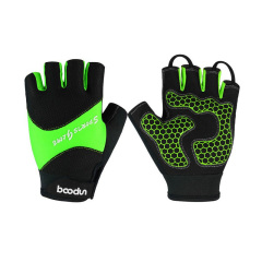High quality Non Slip Resistant Sports Gloves Half Finger