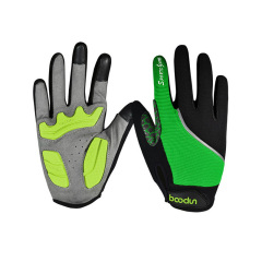 Polyester full finger sport cycling gloves