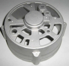 Casting mounting base plate