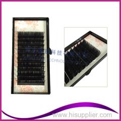 High quality PBT fiber custom package wholesale silk eye lashes
