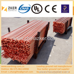 copper clad steel tipped ground rod