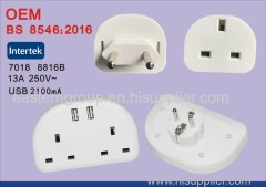 Bs8546 eu to uk travel charger
