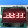Ultra red common anode 4 digit 7 segment led clock display for gas cooker / oven timer