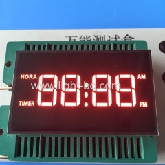 gas cooker display;oven timer display;microwave oven display; clock display