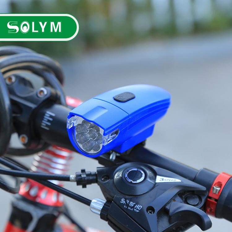 8LED BICYCLE HEADLIGHT 6LED WARNING LIGHT