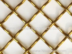 CRIMPED STYLE WEAVED DECORATIVE WIRE MESH