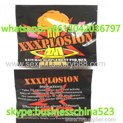 newest XXXPLOSION natural supplement for men