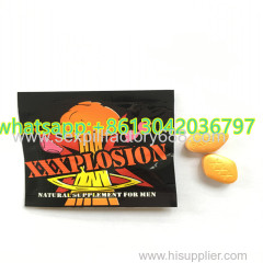Effects last for 72 hours xxxplosion sexual tablets penis erection pills