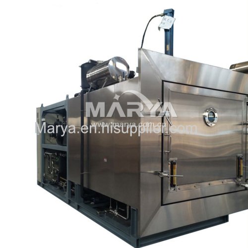 Pharmaceutical vacuum freezer dryer