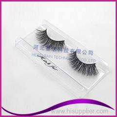 100% real mink fur eyelash extensão melhor qualidade