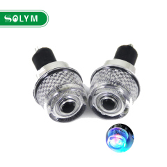 High quality Bike Bicycle Handlebar Lights Warning Lamp 1 Pair