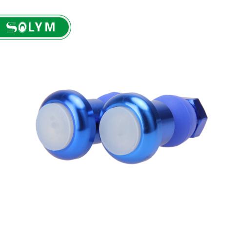 Bicycle Handlebar End Plug LED Light 5 Colors