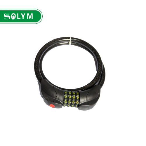 BICYCLE 4 DIGIT COMBINATION LOCK WITH LIGHT