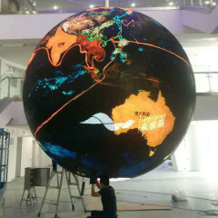 Good performance LED Sphere DISPLAY product new