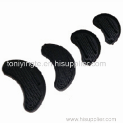 2017 Yangzhou Black Plastic Heel Sole Wholesale
