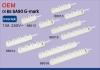 Saso certificado Socket de energía eléctrica 3 vías 1.5m 3m