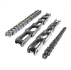 DOUBLE PITCH CONVEYOR ROLLER CHAIN W TYPE CONVEYOR CHAIN WT TYPE PROFILED BAR DRAG CHAIN