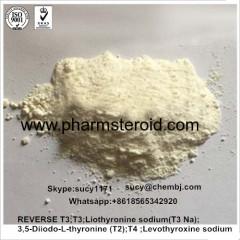 99% Liothyronine sodium T3 Na CAS:55-06-1 thyroid hormone