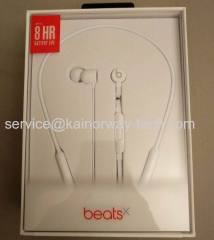Wholesale New Apple BeatsX Beat X White In-Ear Wireless Bluetooth Headphones Earbuds With RemoteTalk