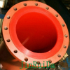 Wear Resistant Poly urethane Liner Steel Pipeline Fitting