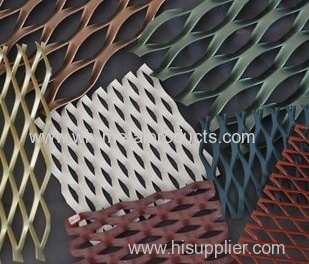 Decorative Use Expanded Metal Mesh