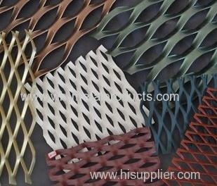 Maillage métallique à l'extérieur décoratif
