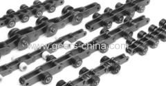 Simplex duplex triplex alloy steel short pitch precision roller chains
