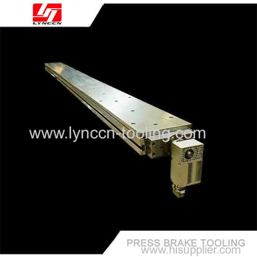 Motorized crowning table system tool