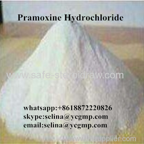 Local Anesthetic Raw Powder Pramoxine Hydrochloride / Pramoxine HCL