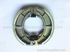 Motorcycle brake shoe for Suzuki-Weightness of 250g-brake lining with groove